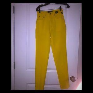 Women's vintage Versace jean pants